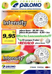 INTENSITY OFERTA LANZAMIENTO PERFUMES SOLIDOS DURACION 30 DIAS